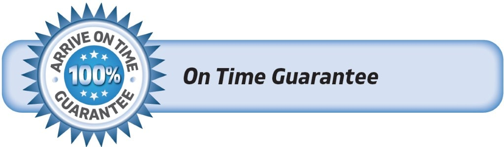 DrainWorks Arrive On Time Guarantee