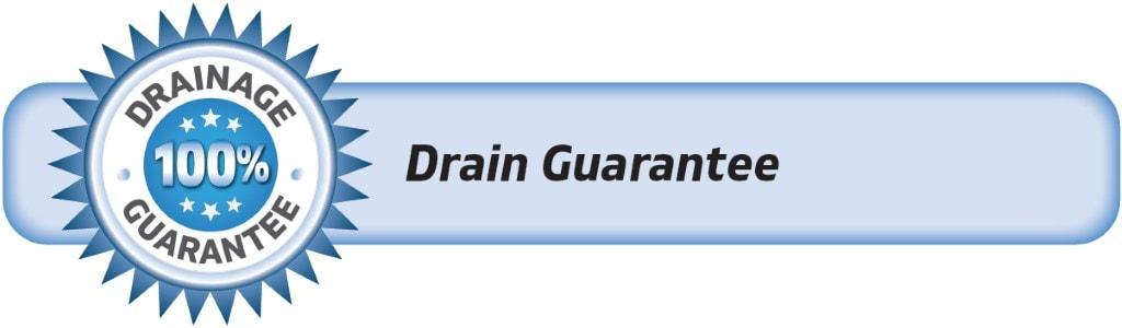 DrainWorks Drainage Guarantee